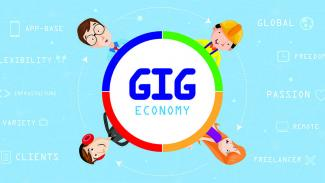 Gig Economy Illustration